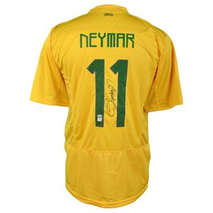 hot sale online 99900 4b2bf Neymar Junior Autographed Jersey