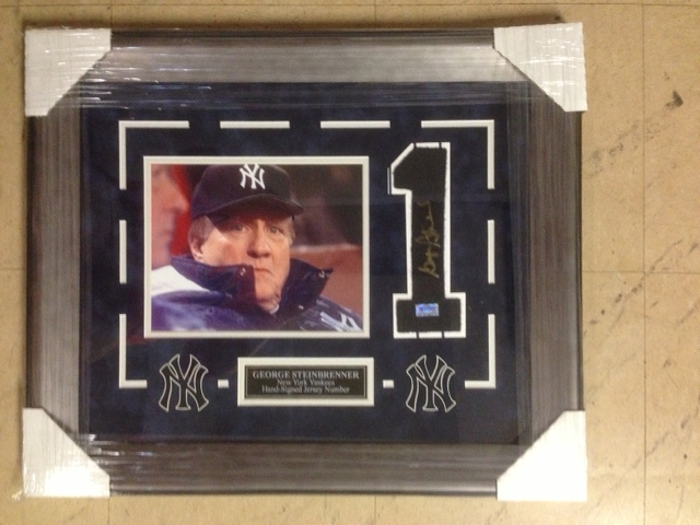 Autographed George Steinbrenner