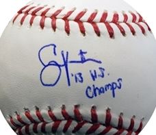 Autographed Shane Victorino 2013 World Series