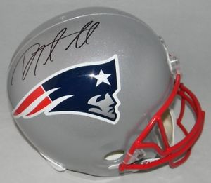 the best attitude 017dd 2ff1b Danny Amendola Autographed Mini Helmet
