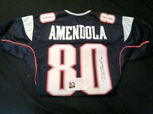 separation shoes 81a79 2f187 Danny Amendola Autographed Jersey