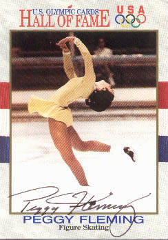 Autographed Peggy Fleming