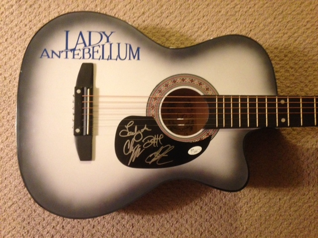 Lady antebellum guitar