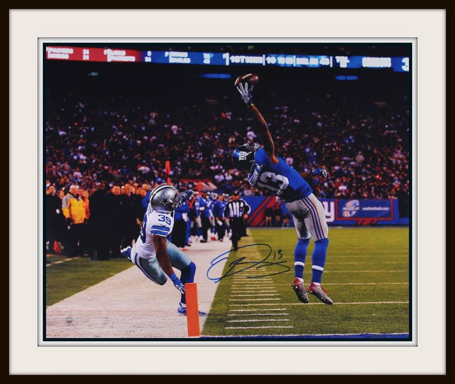 official photos 7ddcc 95bf2 Odell Beckham Jr. Autographed 16x20