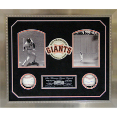 Autographed Willie Mays & Willie McCovey