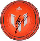 Autographed Leo Messi