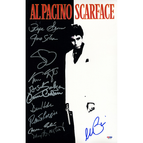 Autographed Scarface