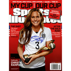 Autographed Christie Rampone