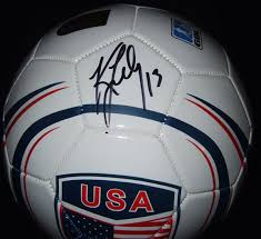 Autographed Kristine Lilly