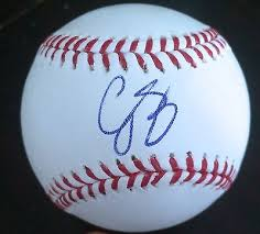 Autographed Corey Seager