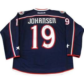 Jersey autographed by Ryan Johansen (Colombus Blue Jackets star) 39f95a6e9