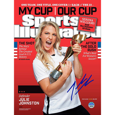 Autographed Julie Johnston
