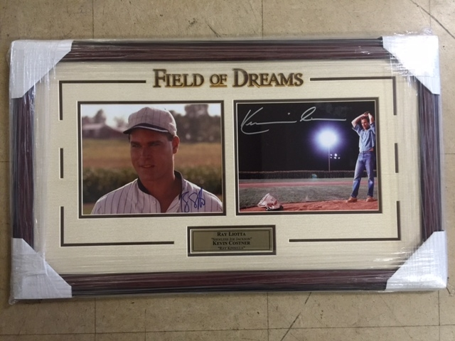 Autographed Kevin Costner & Ray Liotta (Field of Dreams)