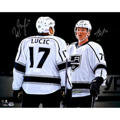 Autographed Milan Lucic & Tyler Toffoli