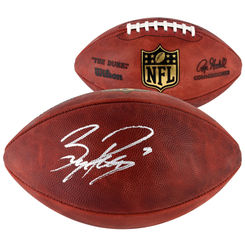 Autographed Bryce Petty