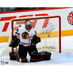 Autographed Corey Crawford
