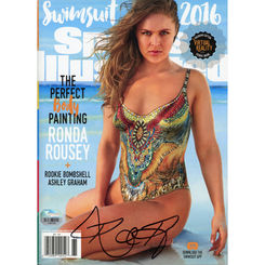 Autographed Ronda Rousey