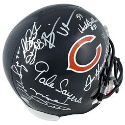Autographed Chicago Bears Legends
