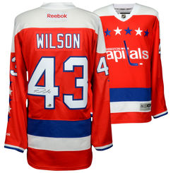 finest selection 000d9 b0ab6 Tom Wilson Autographed Jersey
