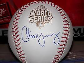 Autographed Chris Young