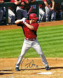 Autographed Chris Owings
