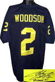 Autographed Charles Woodson