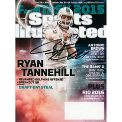 Autographed Ryan Tannehill