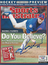 Autographed Kerry Wood