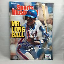 Autographed Darryl Strawberry
