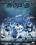 Autographed Lawrence Taylor Frank Gifford & YA Tittle