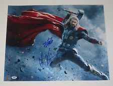 Autographed Stan Lee & Chris Hemsworth - THOR