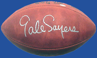 Autographed Gale Sayers