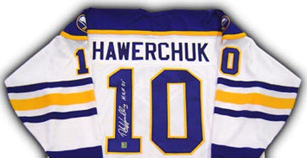 Autographed Dale Hawerchuk