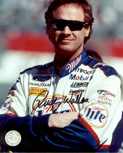 Autographed Rusty Wallace