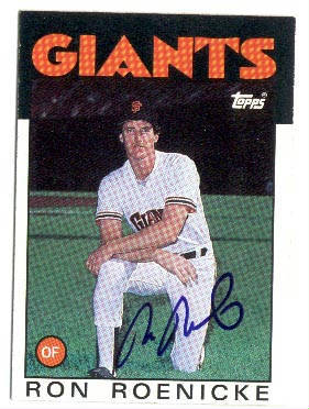Autographed Ron Roenicke
