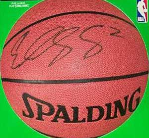 Autographed Eddy Curry