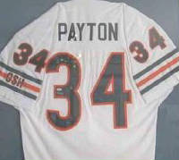 Autographed Walter Payton