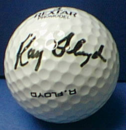 Autographed Ray Floyd