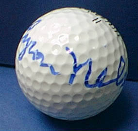 Autographed Byron Nelson