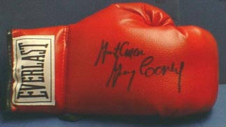 Autographed Gerry Cooney