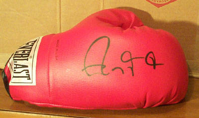 Autographed Roy Jones Jr.