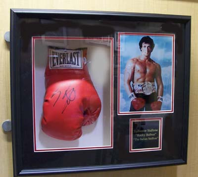 Autographed Sylvester Stallone