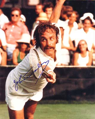 Autographed John Newcombe