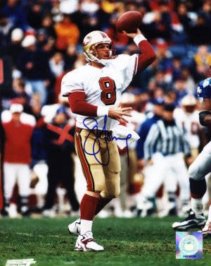 Autographed Steve Young