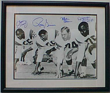 Autographed Fearsome Foursome