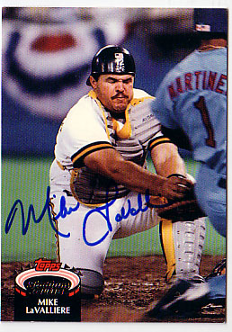 Autographed Mike Lavalliere