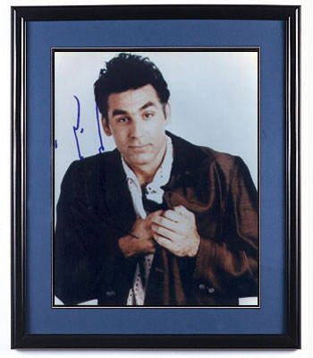 Autographed Michael Richards