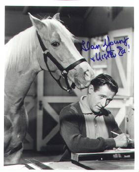 Autographed Alan Young