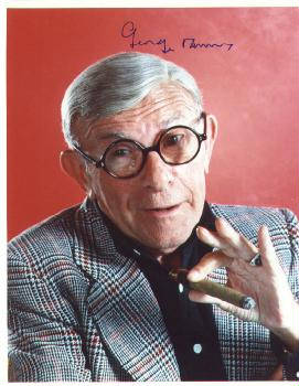 Autographed George Burns