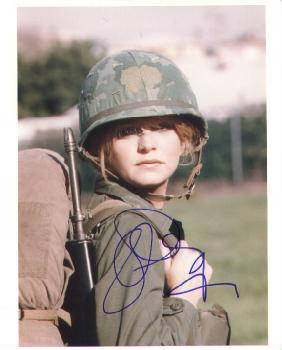 Autographed Goldie Hawn